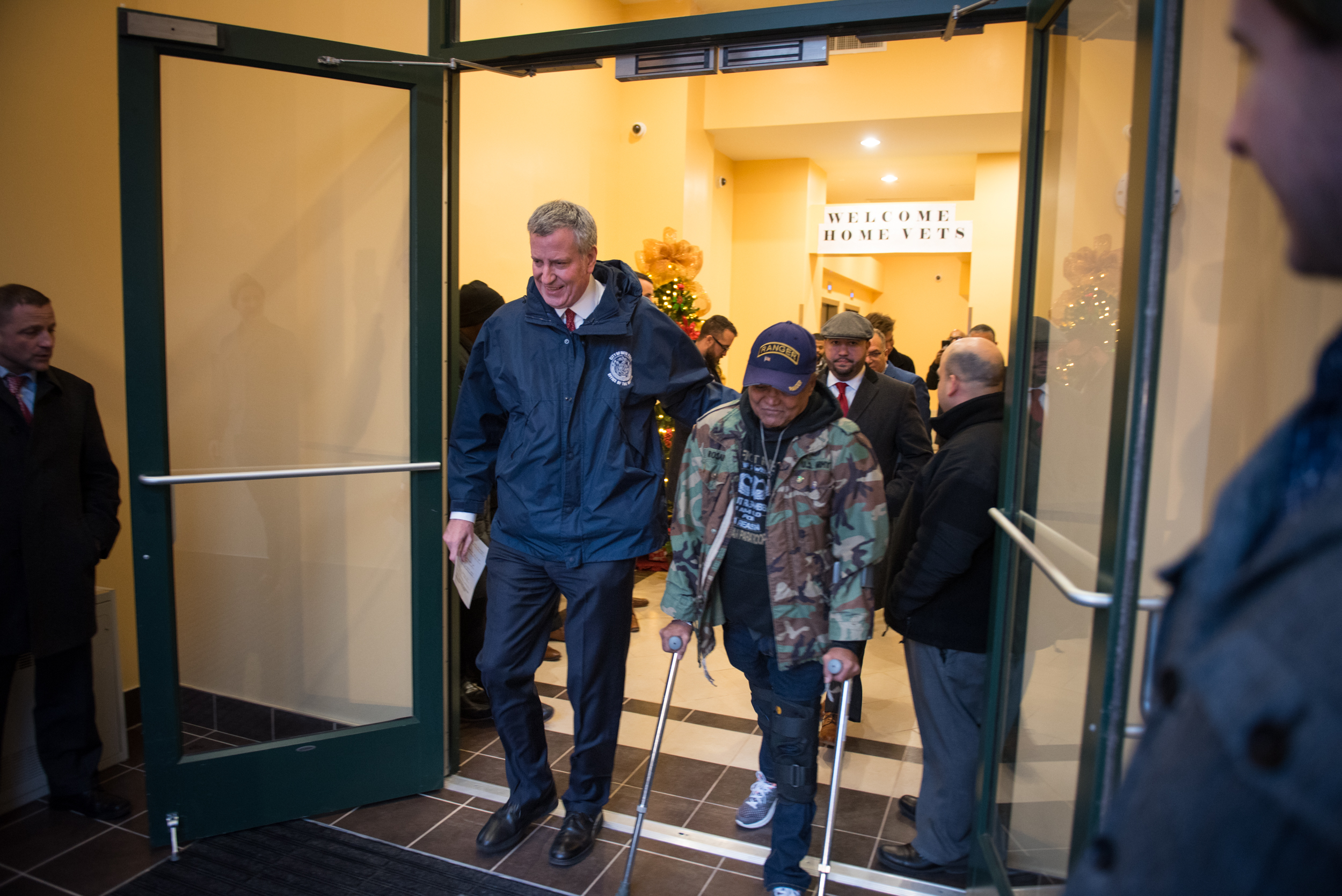 Mayor de Blasio Announces New Affordable Homes for 16 Previously Homeless Veterans