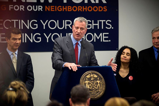 Protecting Tenants and Affordable Housing: Mayor de Blasio's Tenant Support Unit Helps 1,000 Tenants