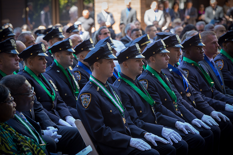 Mayor de Blasio Delivers Remarks at 171St NYPD Medal Day Ceremony