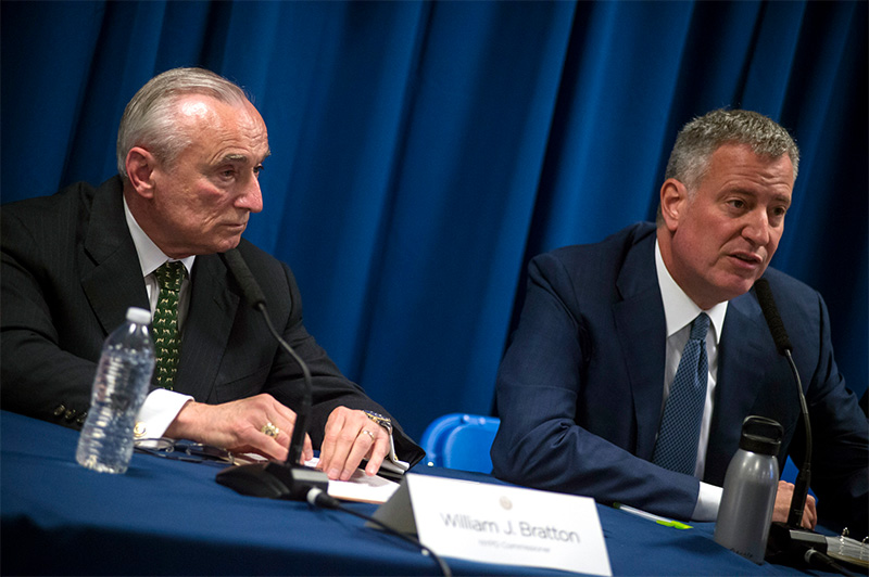 Mayor de Blasio and Commissioner Bratton to Create New 116th Precinct in Southeast Queens
