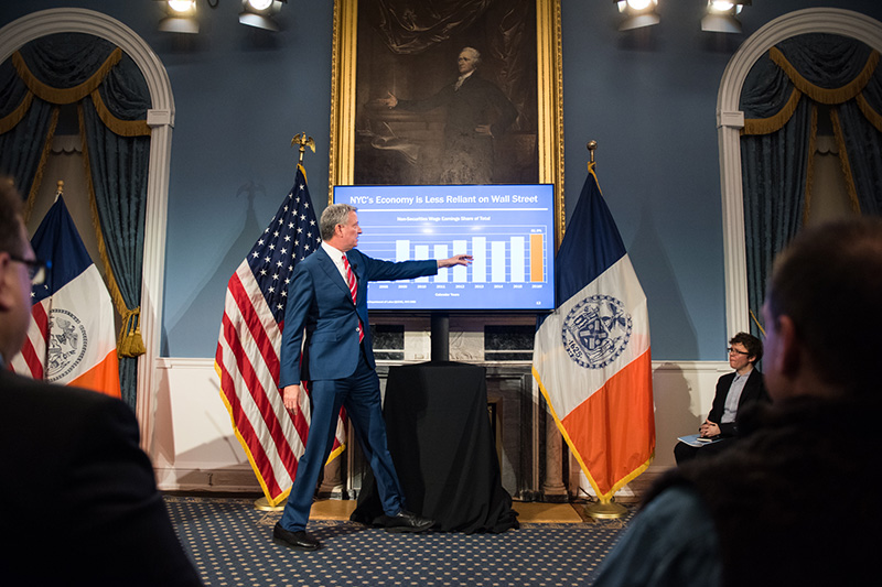 Fact Sheet: Mayor de Blasio Releases Executive Budget for Fiscal Year 2018