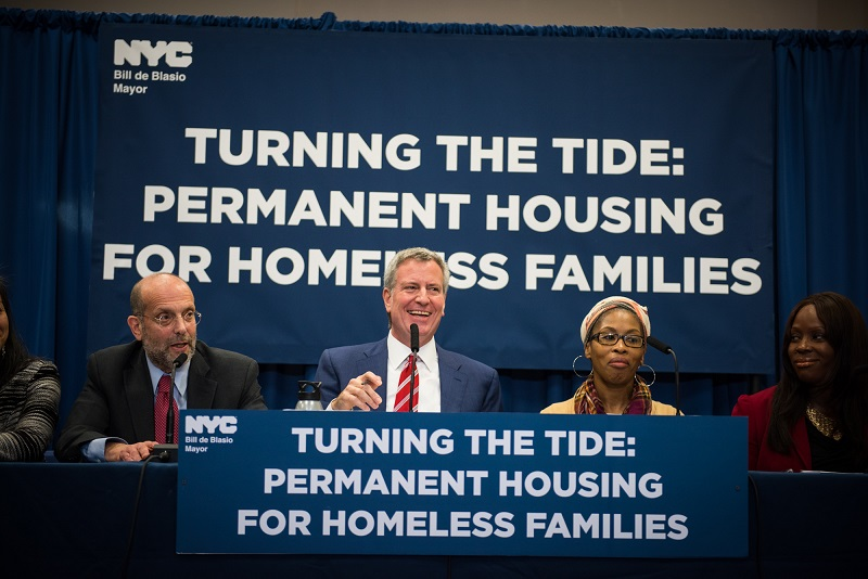 Mayor de Blasio Moves to Convert Cluster Buildings Into Permanent Affordable Housing