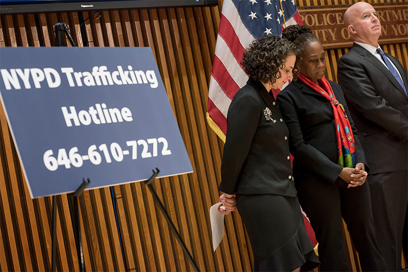 First Lady Chirlane McCray Announces Expanded Resources to Combat Sex Trafficking