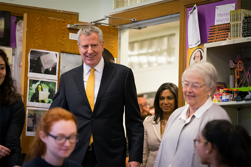 Mayor de Blasio Announces Highest-Ever Number of NYC Students Taking and Passing AP Exams