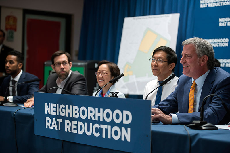 De Blasio Administration Announces $32 Million Neighborhood Rat Reduction Plan