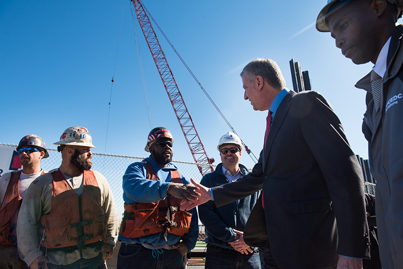 Mayor de Blasio Announces New Ferry Service