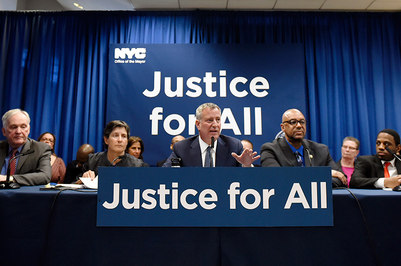 Mayor de Blasio Announces Re-Entry Services for Everyone in City Jails by End of This Year