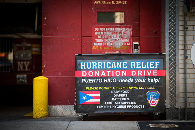 Mayor de Blasio Encourages New Yorkers to Donate Critically-Needed Items for Hurricane Relief