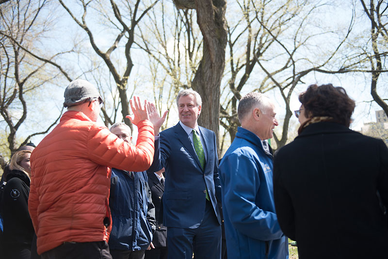 Mayor de Blasio Announces Central Park, Will Become Permanently Car-Free