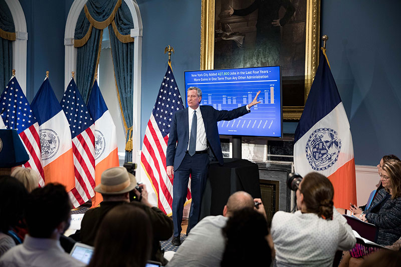 Fact Sheet: Mayor de Blasio Releases Executive Budget for Fiscal Year 2019