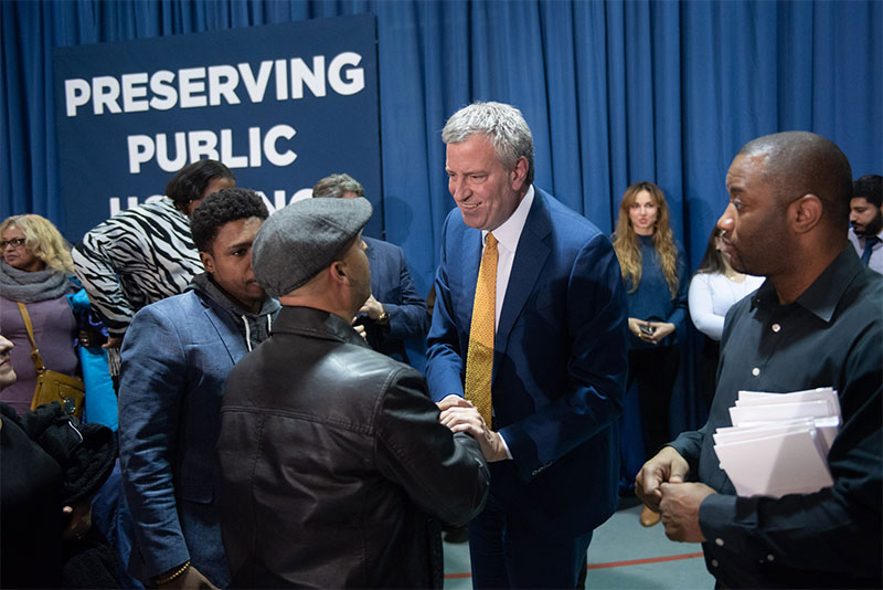 Fixing NYCHA: Mayor de Blasio Announces Comprehensive Plan to Renovate NYCHA Apartments and Preserve