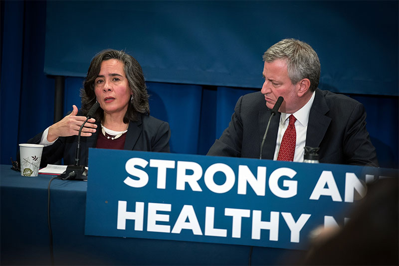 Mayor de Blasio Announces Dr. Oxiris Barbot As City's Health Commissioner