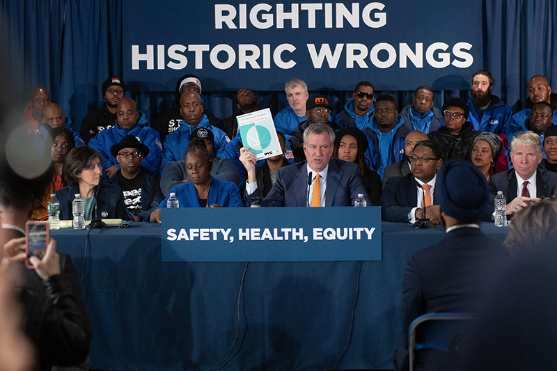 Mayor de Blasio Calls for Fair Cannabis Legalization That Promotes Equity and Opportunity for All