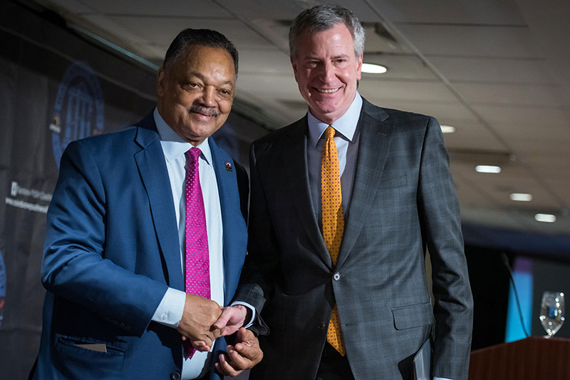 Mayor de Blasio Announces $40 Million in Private Investments