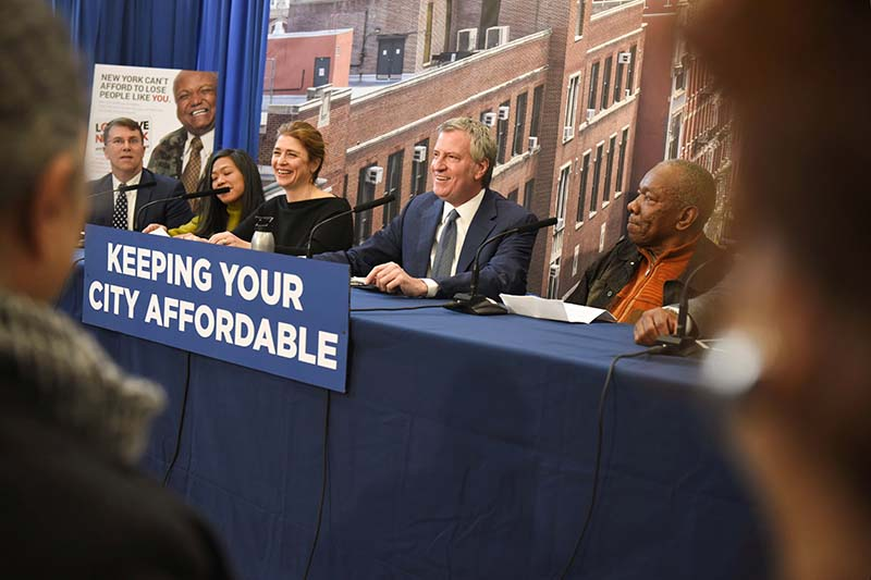 Mayor de Blasio Announces City Secured More Affordable Housing in 2017 Than in Any Prior Year