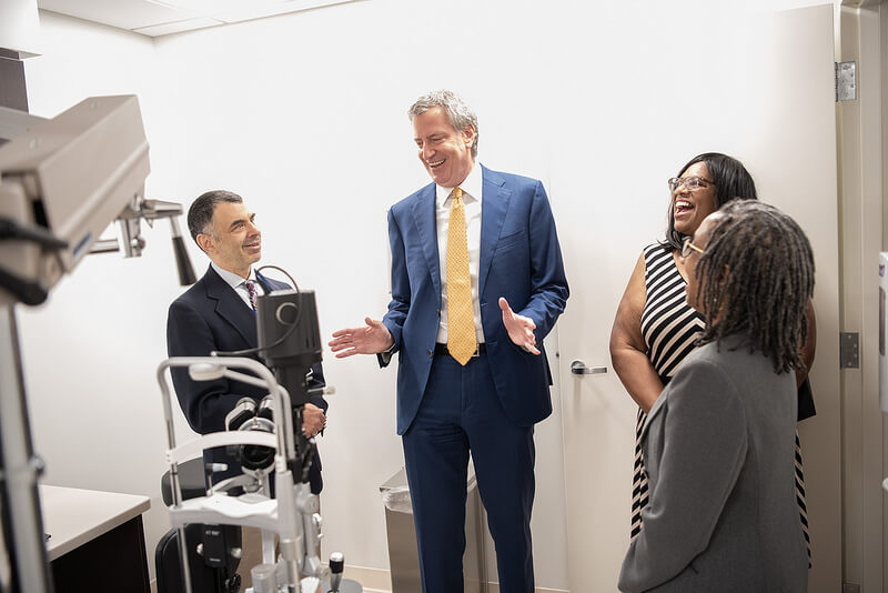 Mayor Cuts Ribbon on Staten Island's New NYC Health + Hospitals Community Health Center