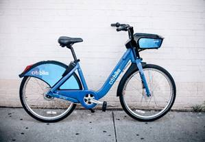Image of the Blue City Bike