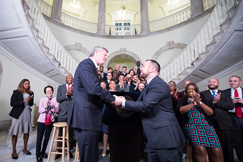 Mayor de Blasio and Speaker Johnson Reach Early Handshake Agreement for Balanced FY19 Budget