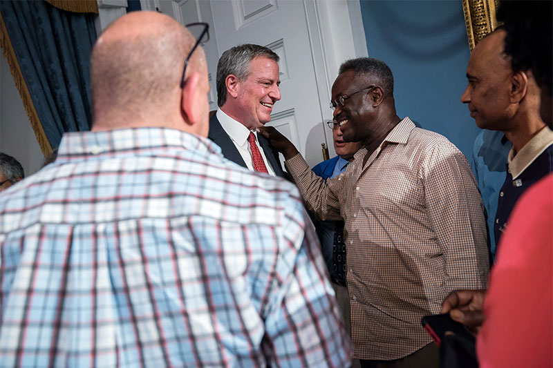 Mayor And Dc 37 Announce Tentative Contract Agreement Providing A