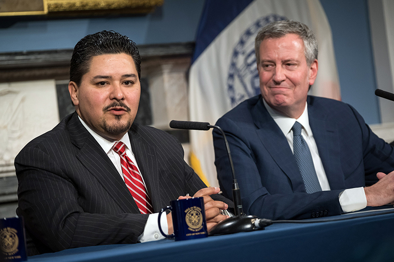 Mayor de Blasio Appoints Richard A. Carranza as Schools Chancellor