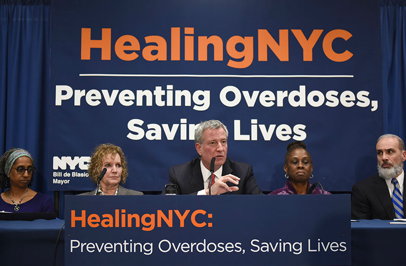 Mayor and First Lady Announce $22 Million Expansion of City's Plan to Combat Opioid Epidemic