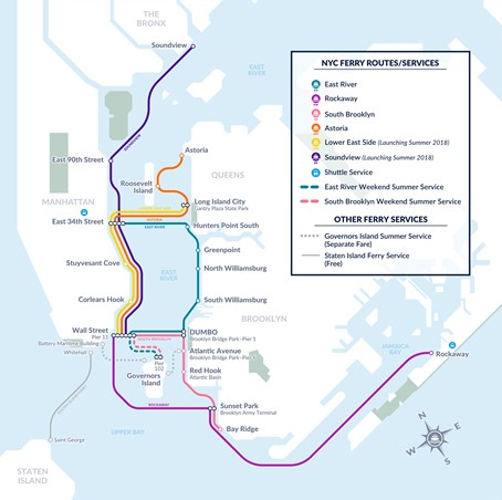 Mayor de Blasio Announces NYC Ferry Now Planning for 9