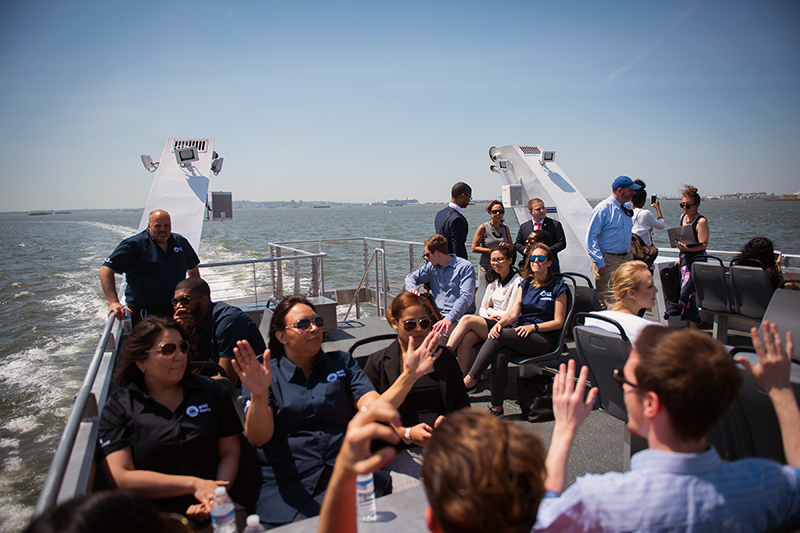 Mayor de Blasio Announces NYC Ferry Now Planning for 9 Million Annual Riders, Growing to Meet Demand