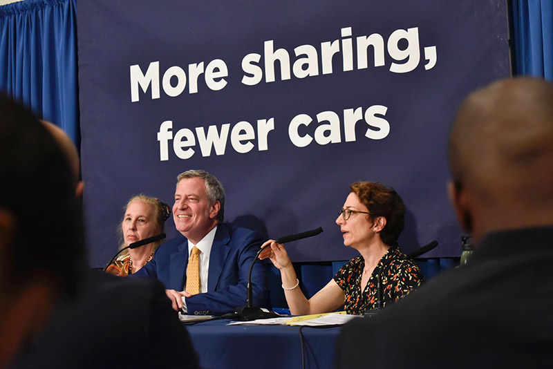 Mayor de Blasio Announces Expanded Access To Carshare