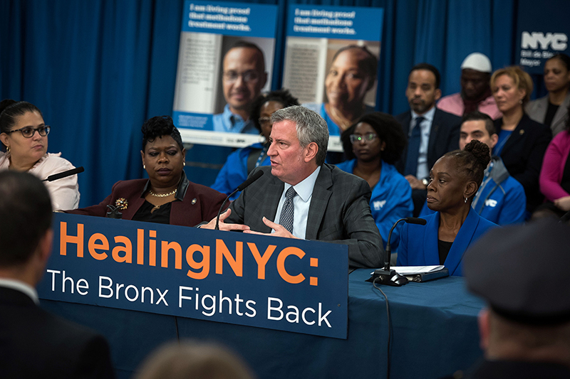 Bronx Action Plan reinforces commitment to connect New Yorkers who struggle with substance misuse to