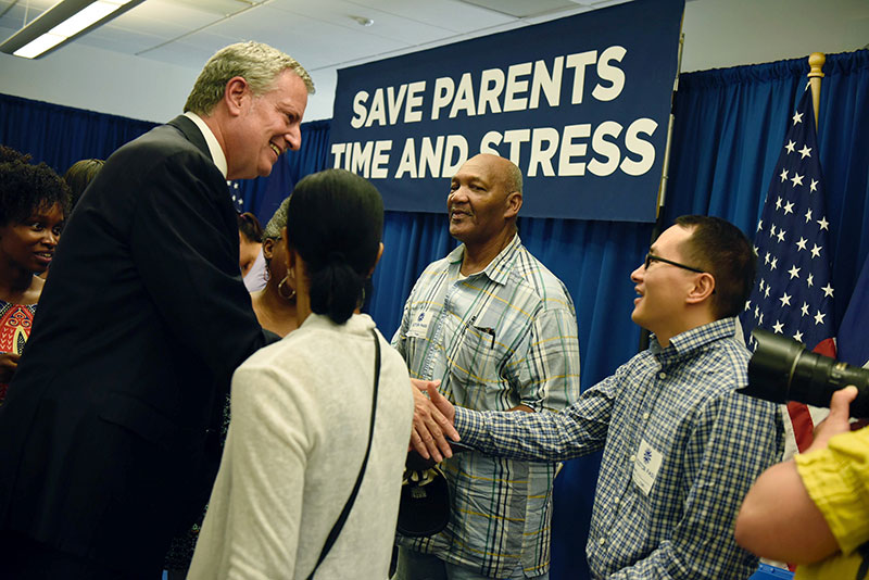 Mayor de Blasio Announces Easier and More Transparent Middle and High School Admissions Process