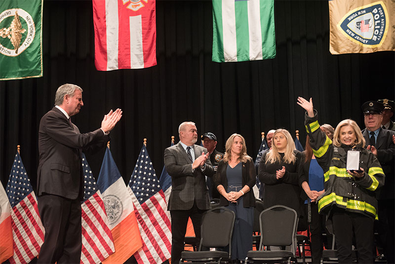 The City of New York Honors the Advocates of a Permanently-Funded Victim Compensation Fund