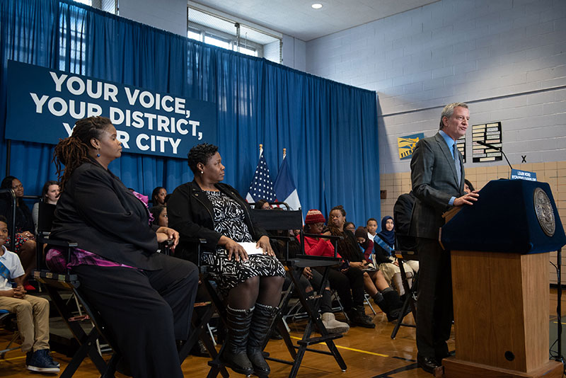 Mayor de Blasio Kicks Off the 2019 Community and Citywide Education Council Elections