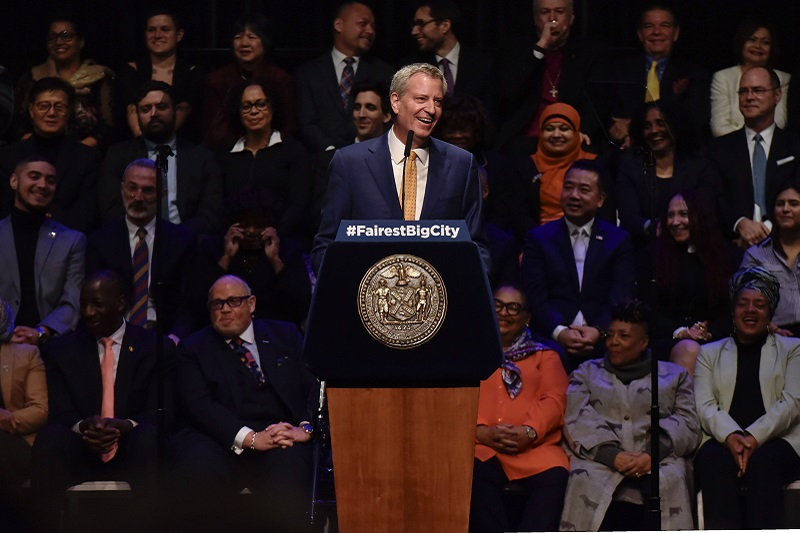 Mayor de Blasio: Delivering on our Promise to Make New York City the Fairest Big City in America