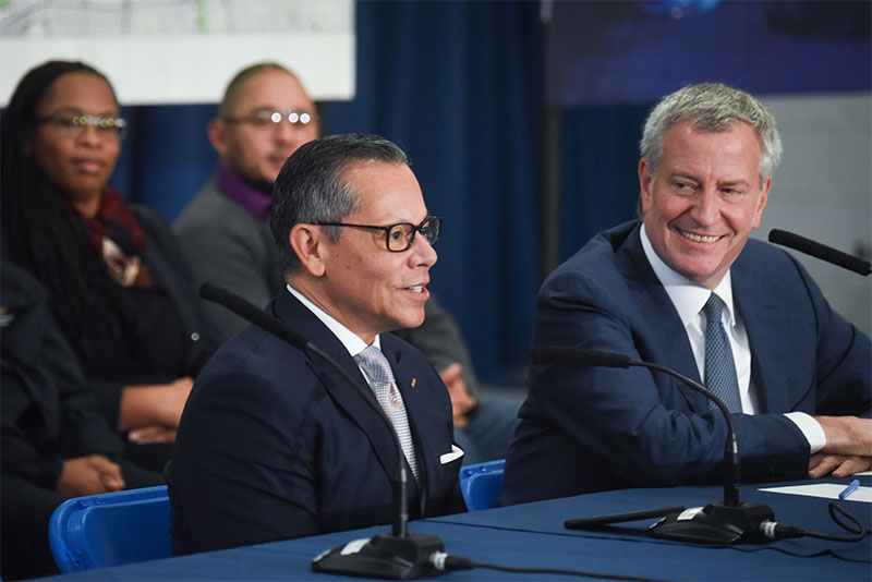 Mayor de Blasio Appoints Dr. Raul Perea-Henze as Deputy Mayor for Health and Human Services
