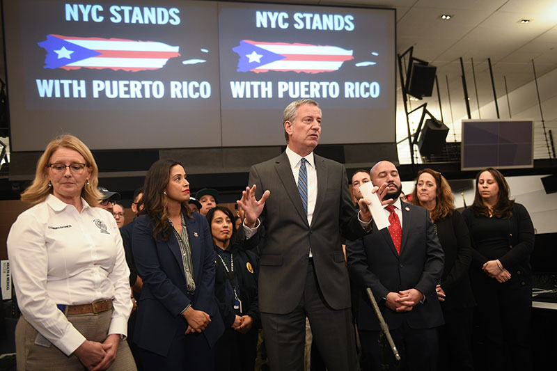 NYC Deploys 24 Additional Personnel to Puerto Rico to Assist in the Response to Recent Earthquakes