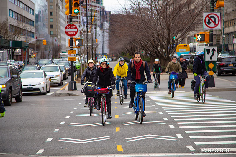 De Blasio Administration Announces 2020 Major Projected Bicycle Lane Projects in Brooklyn
