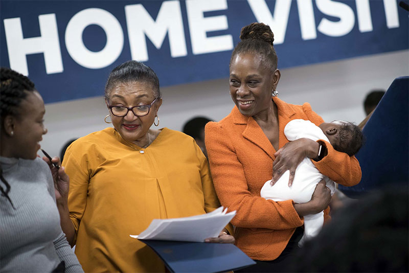 First Lady Chirlane McCray Announces Largest Citywide Home Visiting Services Program