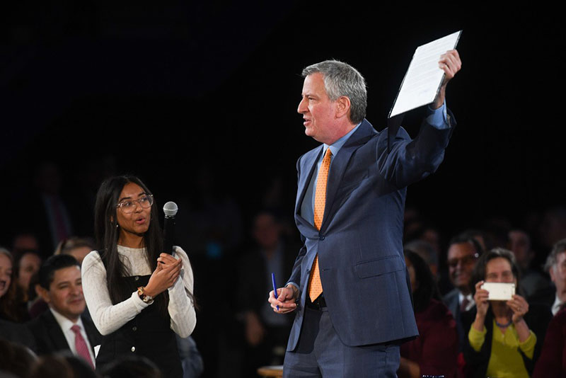 State of the City 2020: Mayor de Blasio Unveils Blueprint to Save Our City