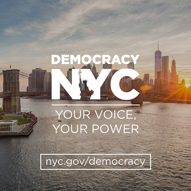 DemocracyNYC - Your Voice, Your Power