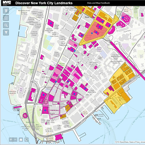 Picture Of New York Map.Nyc Maps City Of New York