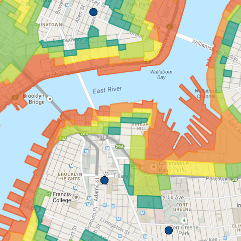 Hurricane Evacuation Zone Finder