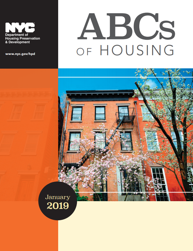 ABCs of Housing cover page