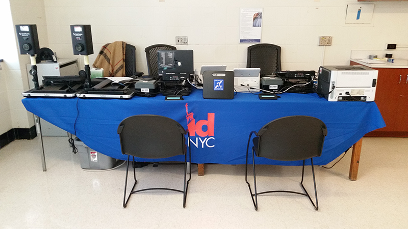 An IDNYC Pop Up Site