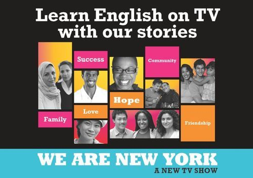 Poster for We Are New York TV show