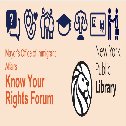 Mayor's Office of Immigrant Affairs Know Your Rights Forum logo