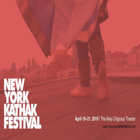 New York Kathak Festival flyer