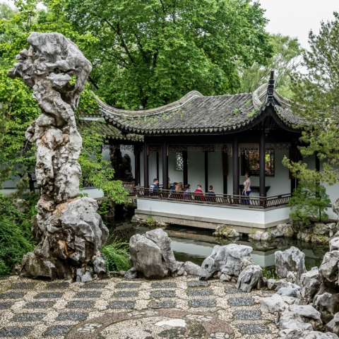 traditional chinese garden