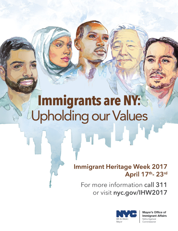 Immigrant Heritage Week 2017 - Upholding our Values