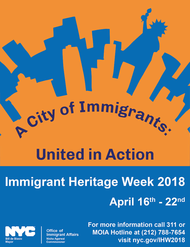 Immigrant Heritage Week 2018 - Upholding our Values