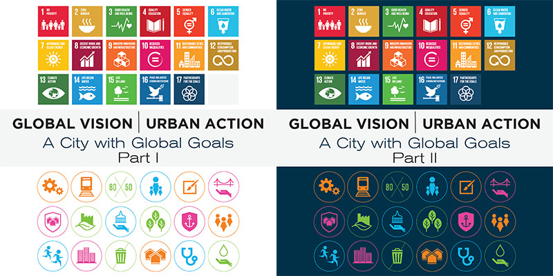 Global Vision | Urban Action Part 1 and 2 report covers